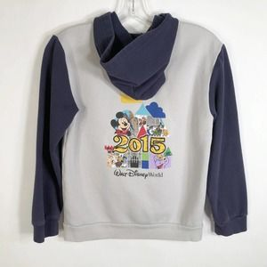 Disney World Park Youth Large Jacket Zip Up Hoodie